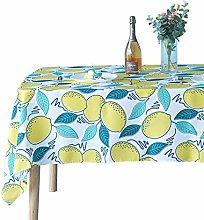 Weddecor 60 x 84 Inch Floral Design Tablecloth