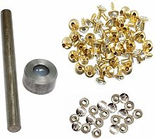 Weddecor 8mm Rivet Setting Hand Tool with Clear