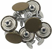 WedDecor Brass Jeans Button, Tack Fasteners with