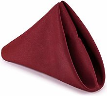 WedDecor Cotton Polyester Table Napkin for Home,