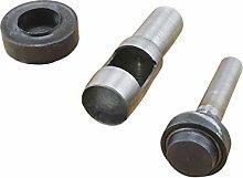 Weddecor Eyelets Grommets Fixing Punch 3 Parts