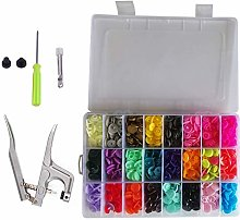 Weddecor No-Sew KAM Snap Starter Kit T3 Plastic