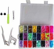 Weddecor No-Sew KAM Snap Starter Kit T5 Plastic