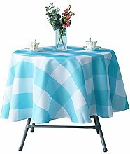 WedDecor Round Printed Tablecloth, Wipe Clean