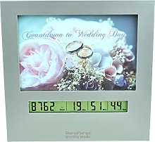 Wedding Countdown Clock with Large Digital Display