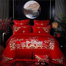 Wedding Duvet Cover - Chinese Wedding Luxury Chic