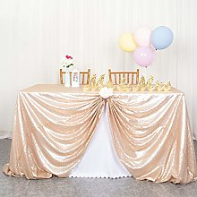 Wedding Table Linens Sequin Tablecloth Party
