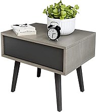 WEDF Nightstand Bedside Table Small Apartment Home