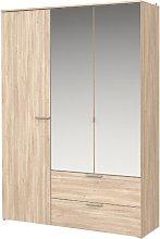 Wedgeworth 3 Door Wardrobe Brayden Studio
