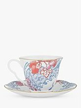 Wedgwood Butterfly Bloom Cup and Saucer Set,