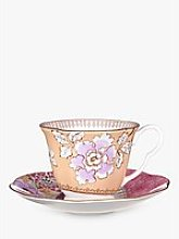 Wedgwood Butterfly Bloom Cup and Saucer Set, Yellow
