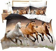 WEDSGTV Duvet Covers Pillowcases 3 Sets 100%
