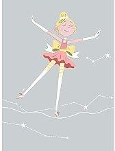 Wee Blue Coo Girls Ballerina Dancer Stars Blonde