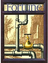 Wee Blue Coo Magazine Cover Plumbing Pipes Tap