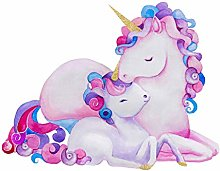 Wee Blue Coo Unicorn Mother And Daughter Large
