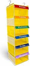 Weekly Happy | Kids Storage Organiser | Hanging