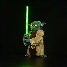 WEERUN LED Lighting Kit for Lego Star Wars Yoda,