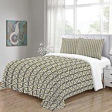 WEFDVBC Bedroom Bedding 59x78 inch Triangles