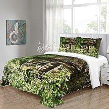 WEFDVBC quilt covers twin Bedroom 87x94inch Trees