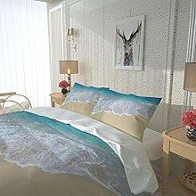 WEFDVBC quilt covers twin Bedroom 91x87inch Beach