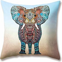WEIANG Soft Plush Animal Cushion Covers Hand