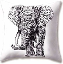 WEIANG Soft Plush Animal Cushion Covers Hand