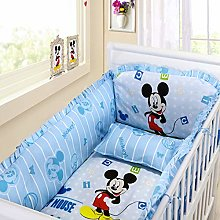 weichuang Baby mattress 6pcs Cartoon baby bedding