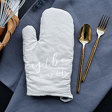 weichuang Oven gloves 1Pc Cotton Oven Glove