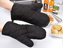 weichuang Oven gloves 1PC New Portable Black