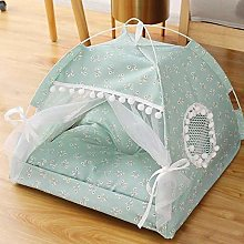 weichuang Pet House Cat Bed Foldable Winter Warm