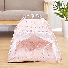 weichuang Pet House Winter Warm Cat Bed Foldable