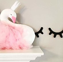 Weichuang Sleeping Pillows Baby Pillow Swan Crown