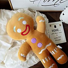weichuang Soft Toy Cute Gingerbread Man Plush Toy