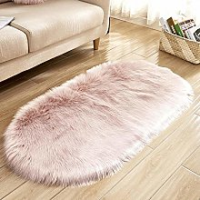 WEIDD Faux Fur Rug Soft Fluffy Rug Shaggy Rugs