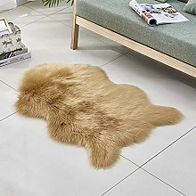 WEIDD Faux Sheepskin, Lambskin Fur Rug   Fluffy