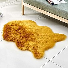 WEIDD Faux Sheepskin Rug ,Fur Faux Fleece Fluffy