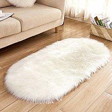 WEIDD Faux Sheepskin Rug ,Fur Faux Fleece Fluffy