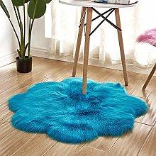 WEIDD Faux Sheepskin Rug,Fur Faux Fleece Fluffy