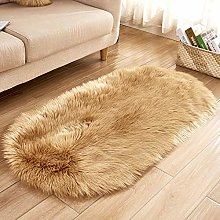 WEIDD Faux Sheepskin Rugs Faux Fleece Chair Cover