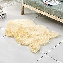 WEIDD Fluffy Area Rugs Anti-Skid Yoga Carpet For