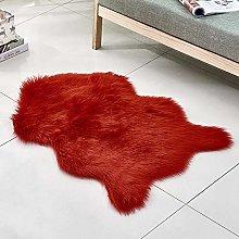 WEIDD Fluffy Faux Fur Rug for Living Room, Super