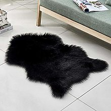 WEIDD Household Blanket Super Soft Faux Fur Rug