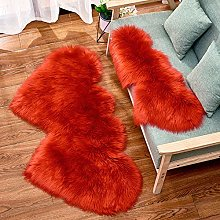 WEIDD Soft Shaggy Rug Floor Carpet Washable Faux