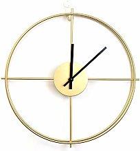 WEIFENG Simple Round Digital Wall Clock, 50 Cm