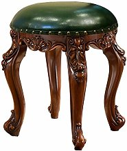 WEIJINGRIHUA Foot Stool,Small Sofa stool Backless