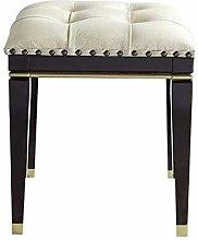 WEIJINGRIHUA Foot Stool,Small Sofa stool Bedroom
