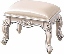 WEIJINGRIHUA Foot Stool,Small Sofa stool Dressing