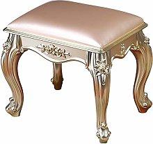 WEIJINGRIHUA Foot Stool,Small Sofa stool Makeup