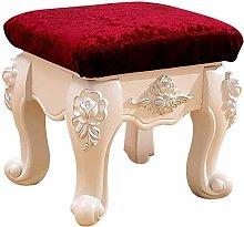 WEIJINGRIHUA Foot Stool,Small Sofa stool Ottoman