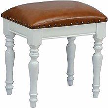WEIJINGRIHUA Foot Stool,Small Sofa stool Square
